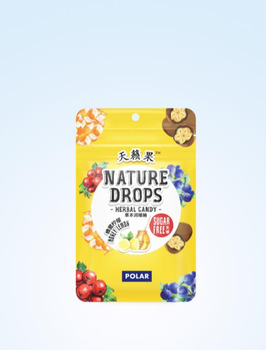 Nature Drops Honey Lemon 23g