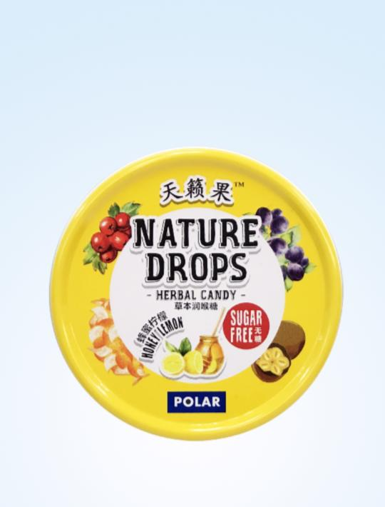 Nature Drops Honey Lemon 60g