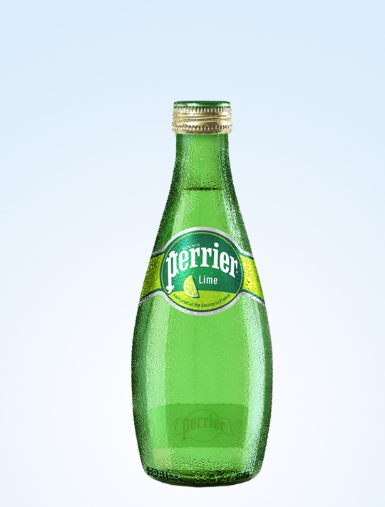 Perrier Sparkling Mineral Water - Lime 330ml