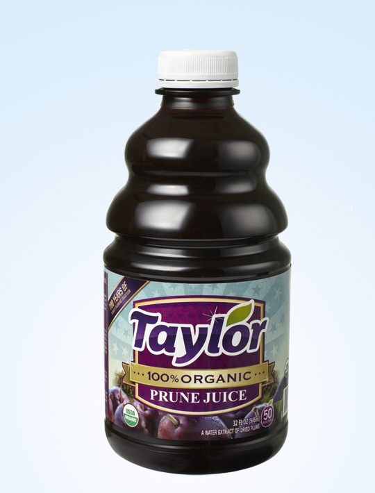 Taylor Prune Juice 100% Organic 946ml (32oz)