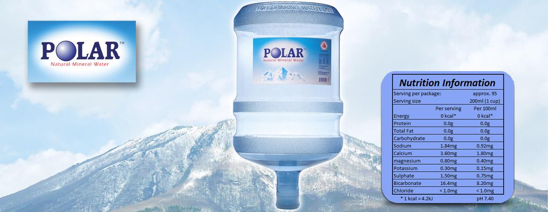 Polar Natural Mineral Water